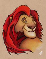 King Mufasa #SixFanArtsChallenge