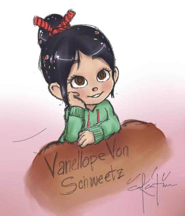 Vanellope Von Schweetz : Sweet Victory by Inkintime