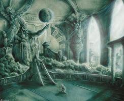 atlantis_king's throne by Zuccarello