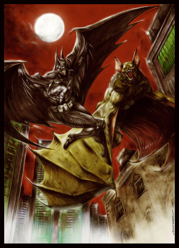 BATMAN: The Man and the Bat by Zuccarello