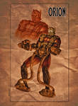 NEW GODS tribute: ORION by Zuccarello