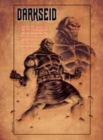 NEW GODS tribute: DARKSEID by Zuccarello