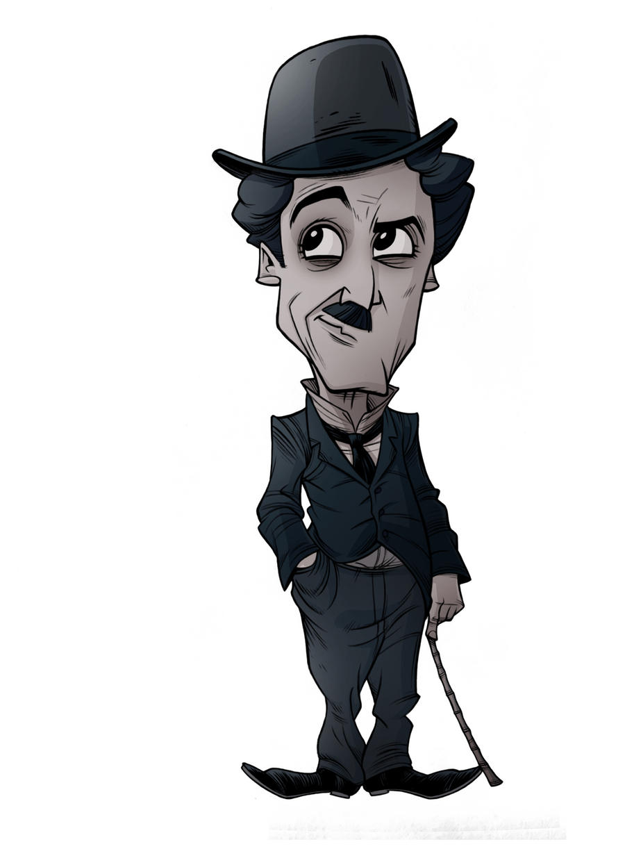 CARICATURES: CHARLIE CHAPLIN by Zuccarello