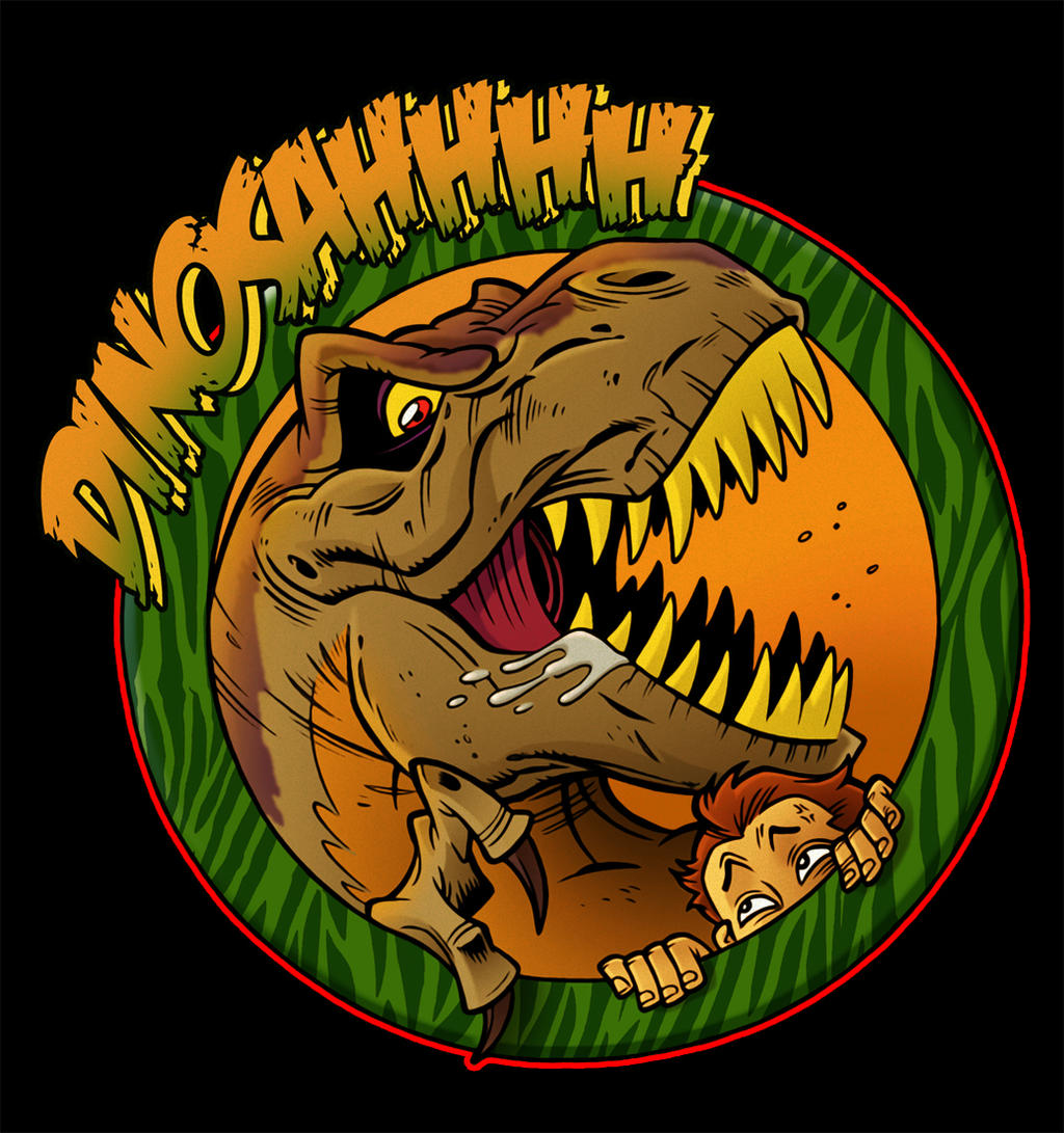 DINOSAHHHH: TABLETOP GAME LOGO by Zuccarello