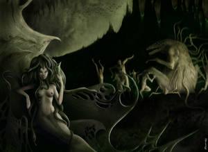 Medusa's Coil -Lovecraft's tale-