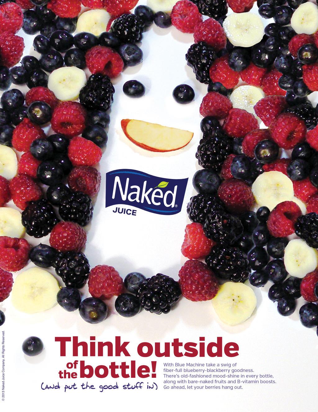 Guy nake the naked juice company fuckbook