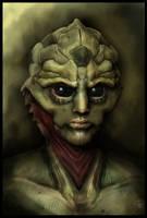 Thane Krios: Drell Warrior