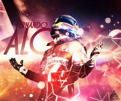 Fernando Alonso by Altz996