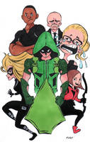 Team Arrow by DisintegrationStreet