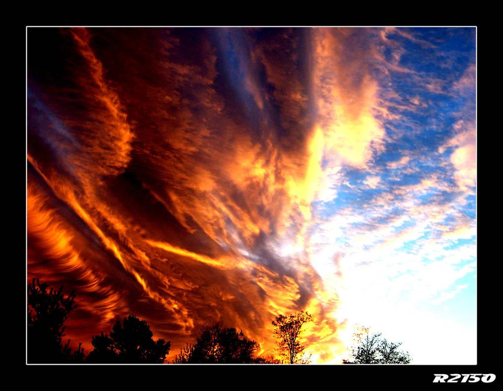 The Burning Sky...
