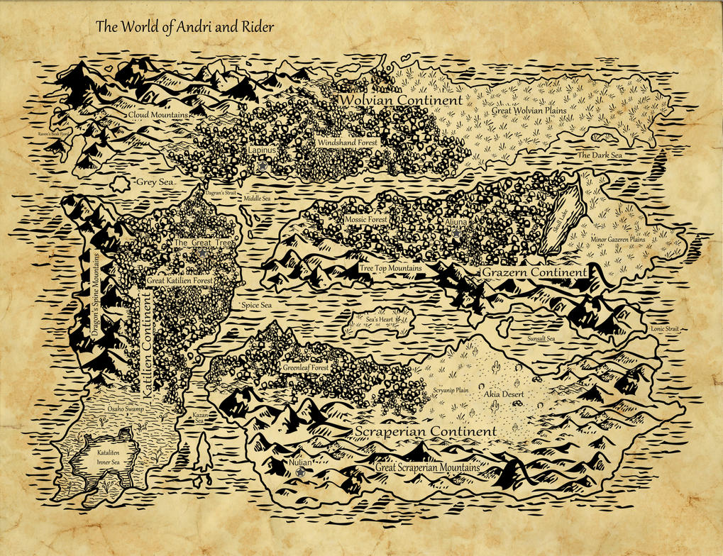 Map of fantasy world by coolcurry on deviantart map of fantasy world by coolcurry gumiabroncs Choice Image