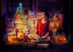 A Witch's Library