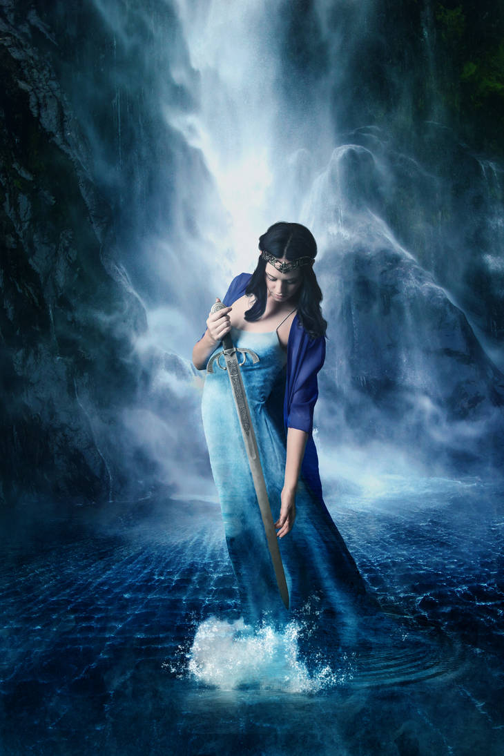 Lady of the Lake by CoolCurry
