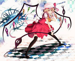 Toho Project:Frandle Scarlet by yodori