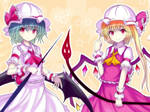 touhou project:Scarlet sisters