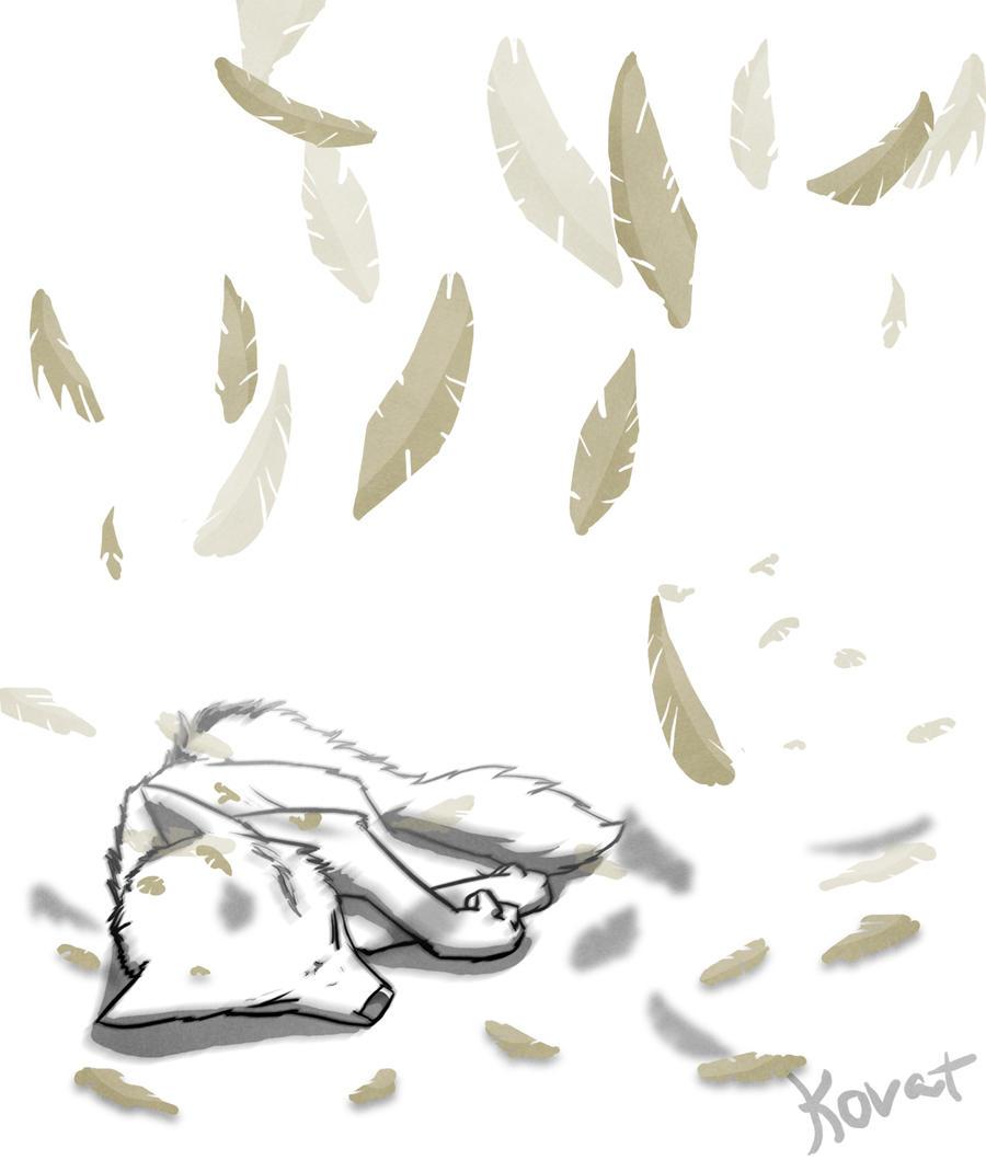 Broken wings, please by kovat