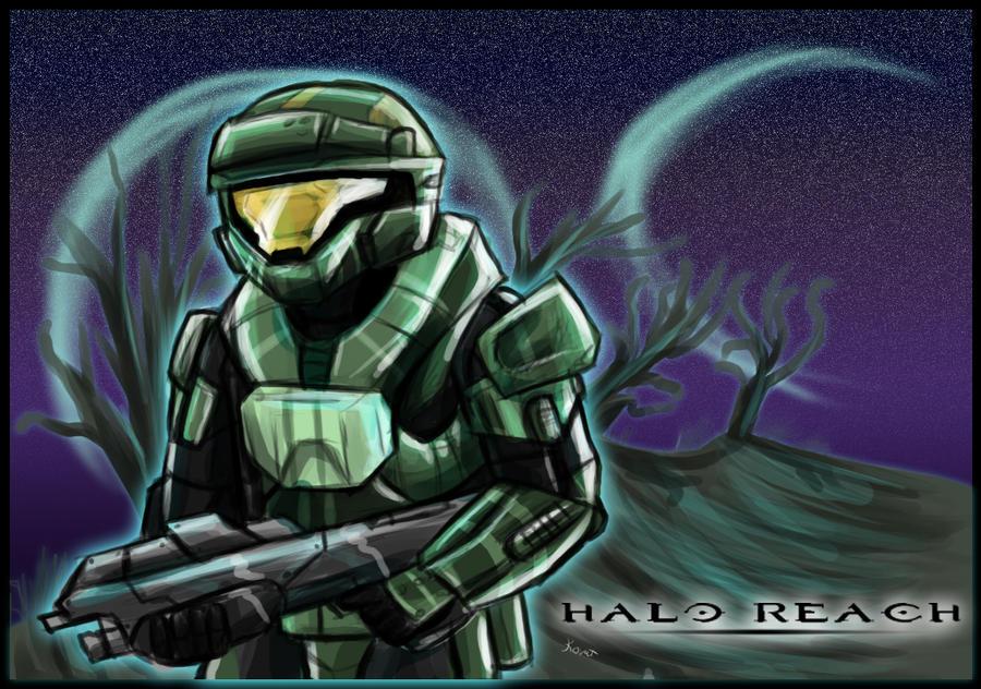 Halo reach: spartan by kovat