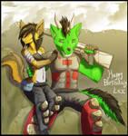 Birthday bash warriors