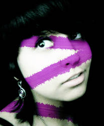 That purple in me.