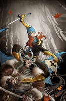 Batgirl by Seabasss