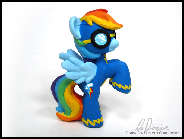 Wonderbolt Rainbow Dash by NoDivision