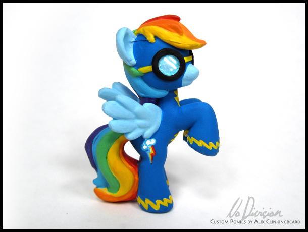 Wonderbolt Rainbow Dash by NoDivision