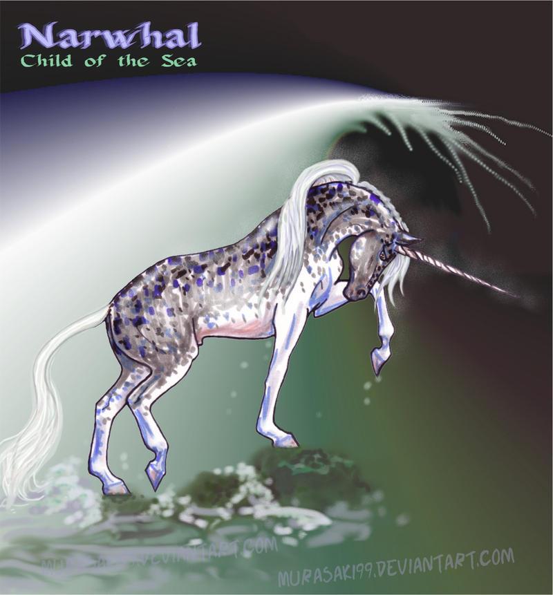 Legedary Marefolk & Sirens of the Deep Narwhal_unicorn_stallion_by_murasaki99