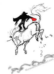 First Ride - Sketch by Murasaki99