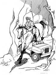 Cross-Country Raid - Jumping