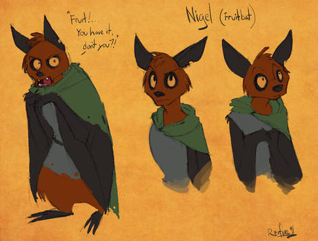 Nigel Concept Sketches