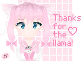 thanks for the llama! by suqar-viibes