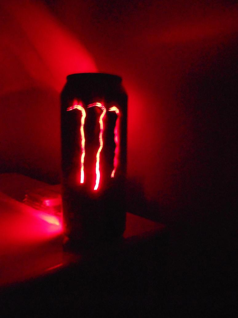 Monster Energy Ultra Red Can Light II by lizking10152011 ...