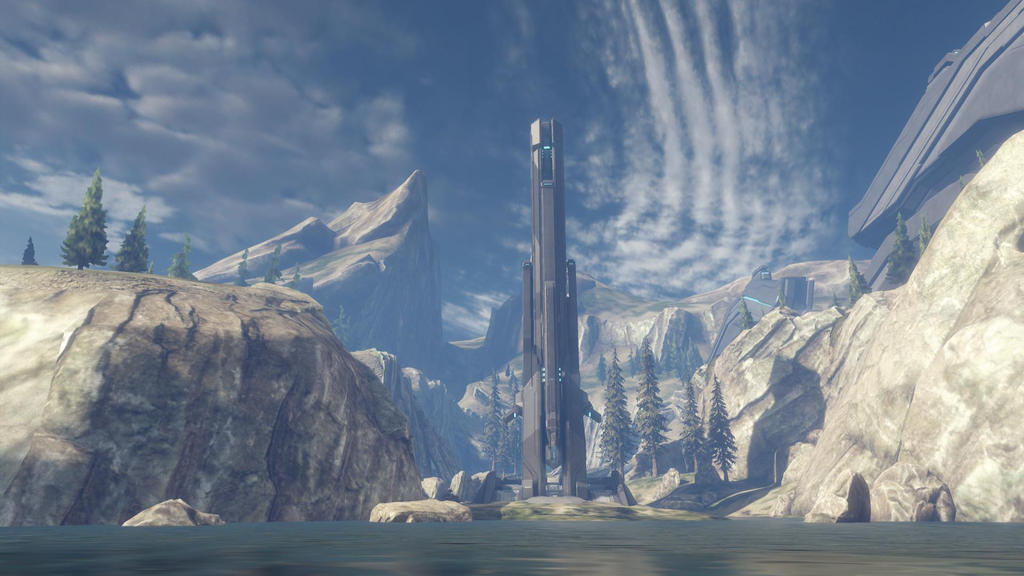 Halo 4 Ragnarok Out of Map VI by lizking10152011 on DeviantArt