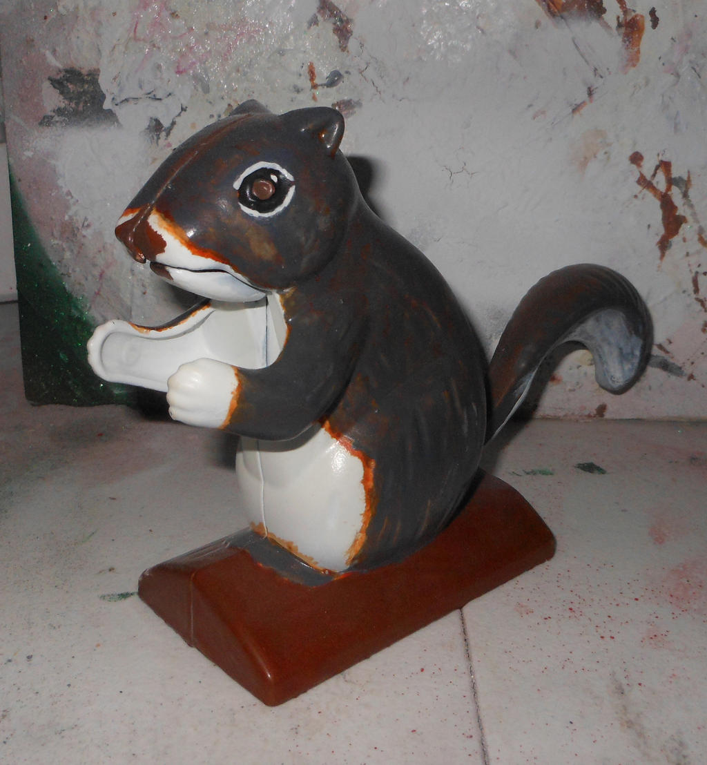 Model Painted Squirrel Nutcracker Ii By Lizking10152011 On Deviantart