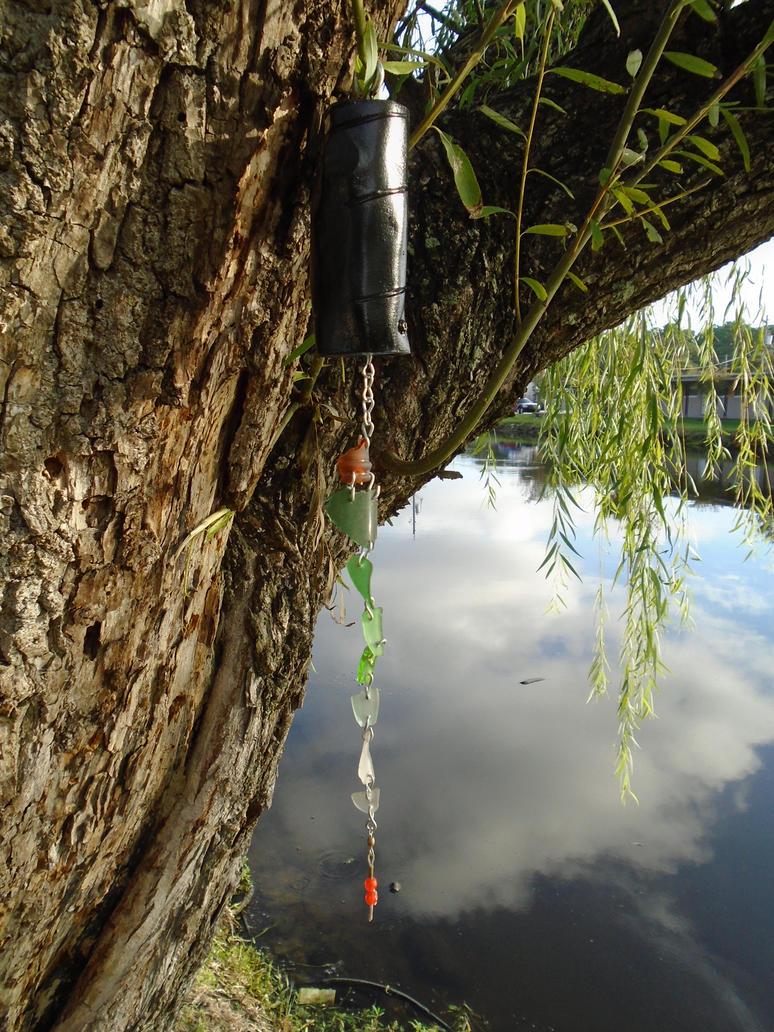 Scrap Suncatcher 'Fisherman's Delight' III by lizking10152011