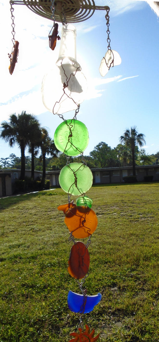 Scrap Suncatcher 'Reversed Perspective' IV by lizking10152011