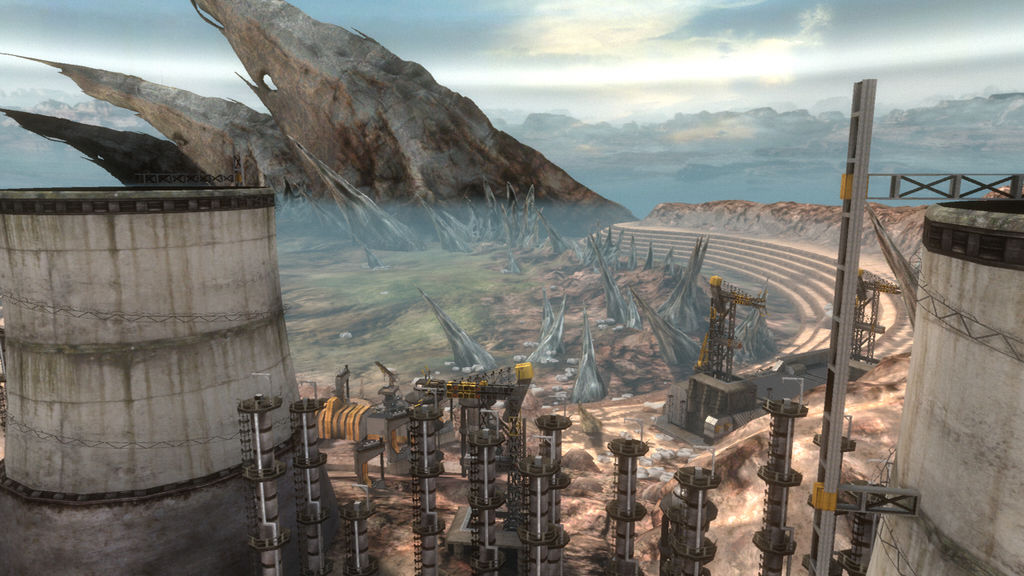 Halo: Reach Outside of Unearthed V by lizking10152011 on