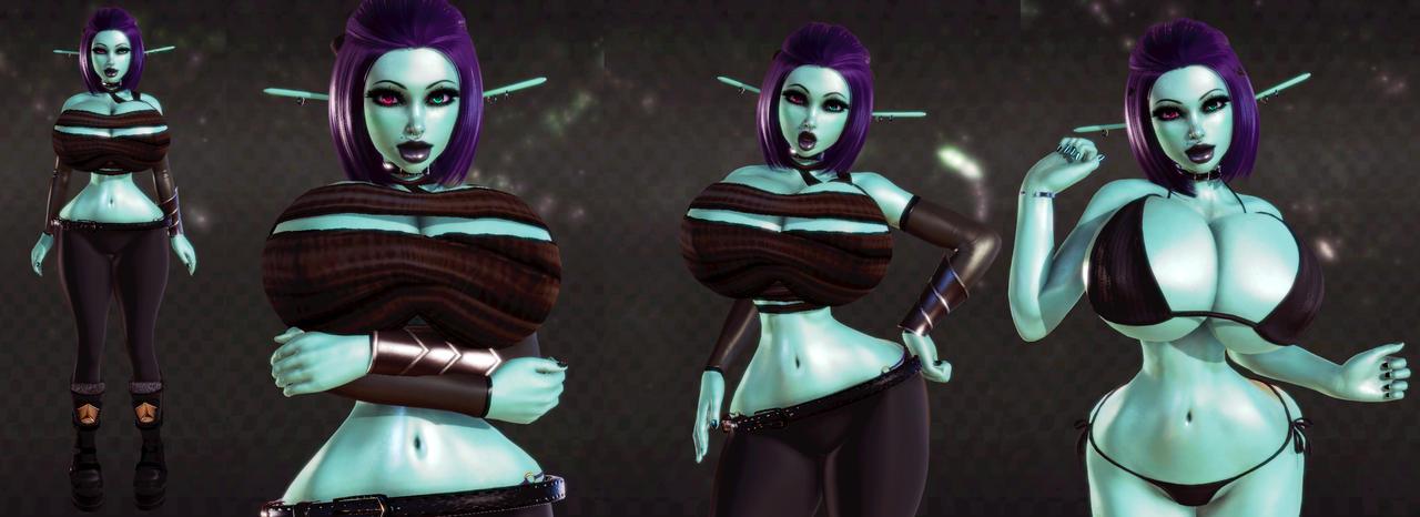 Soria dark elf