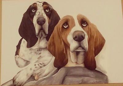 Dog commission  by Sarahlara23