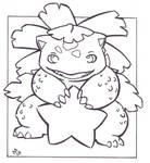 Star - Venusaur .:lineart:.