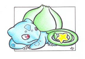 Star - Bulbasaur .:colour:. by Fluna
