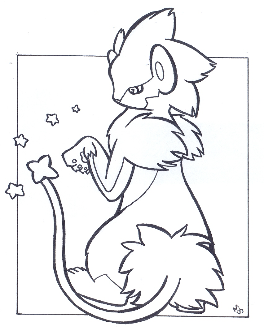 Image Result For Luxray Pokemon Coloring