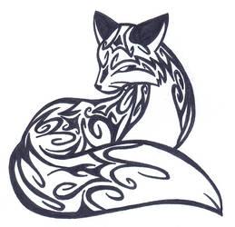 TATTOO - Curly Fox