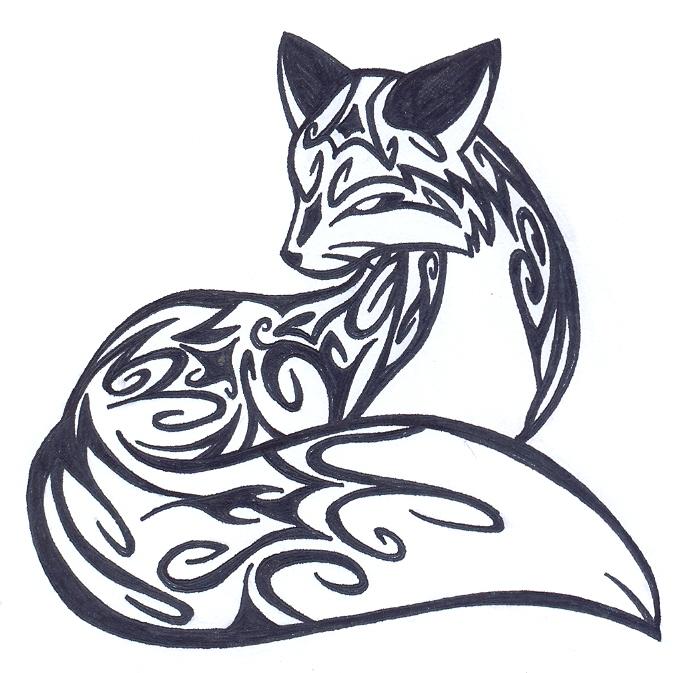 Fox Tattoo Design TATTOO - Curly Fox by Fluna