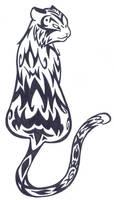 TATTOO - Back Tiger