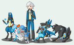 Sinnoh - Dusty and his team
