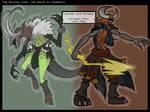 TDC Lokimon and Odinmon