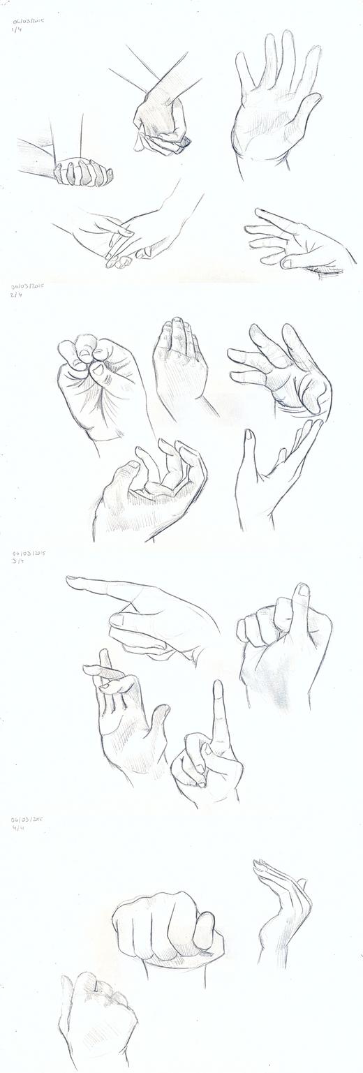 School - Hands by Fluna