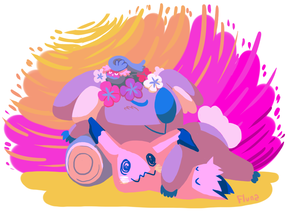 Pokemon - Sweet Dreams Alola by Fluna