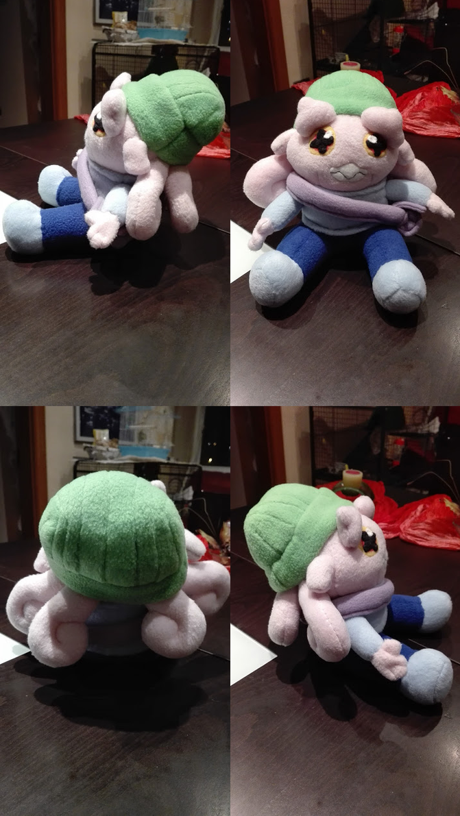 Plush - Sally the octopus girl by Fluna